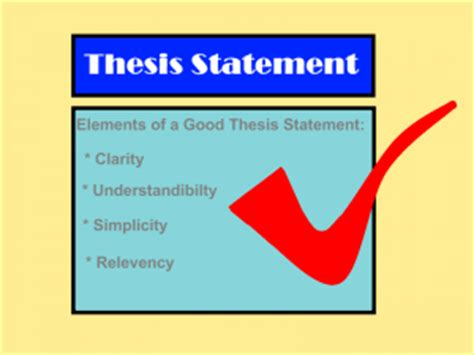 How to write a legal thesis statement hsc
